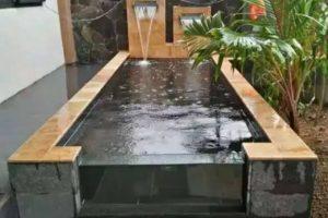 5 Ide Kolam Ikan Minimalis Dengan Batu Alam