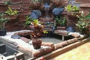 Jasa Pembuatan Relief Tebing Kolam Jogja